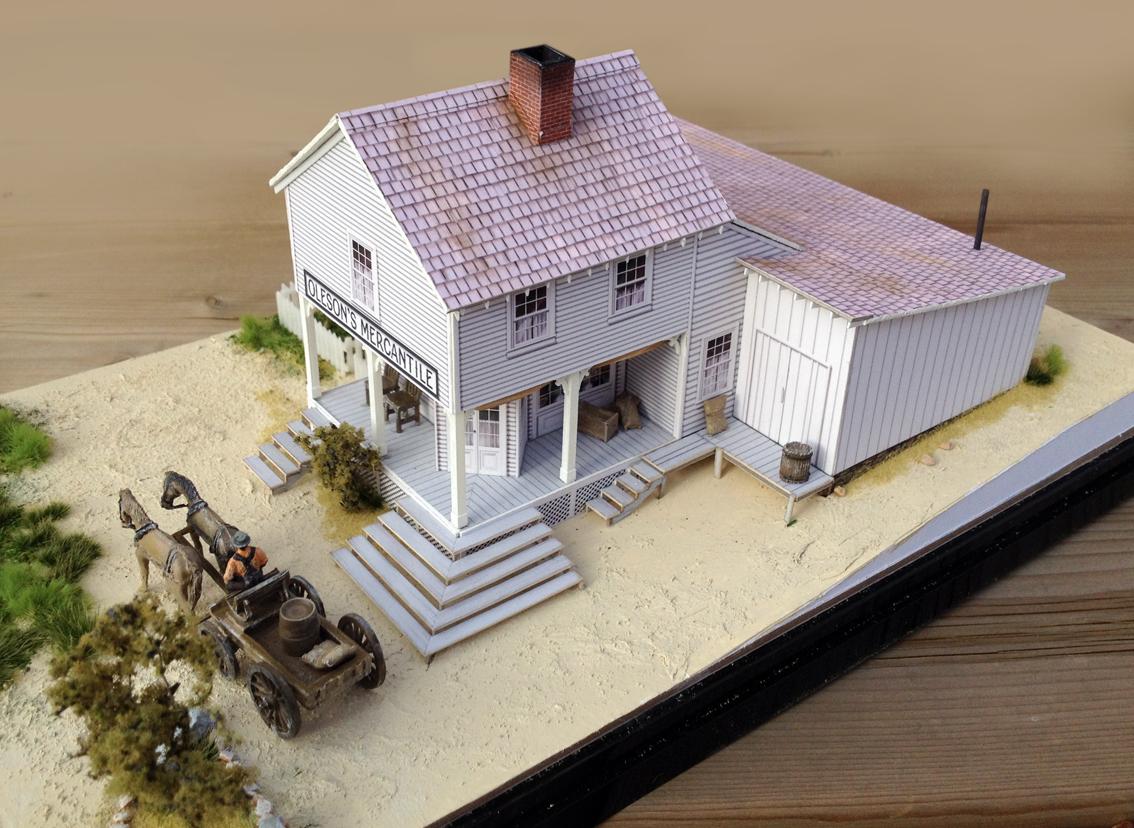 Maquettes pour le mus e de walnut grove models for the for The grove house